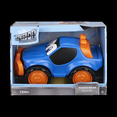 Speed City Junior สปีดซิตี้ จูเนียร์ รถแข่งสไมลี่ สีฟ้า