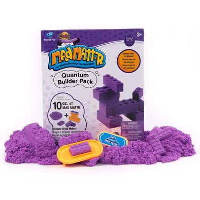 Mad Mattr แมด แมทเทอร์ ชุดแป้งโดมหัศจรรย์ สีม่วง พร้อมแม่พิมพ์บล็อกเลโก้