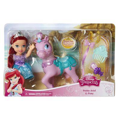 Disney Princess ตุ๊กตาเจ้าหญิงตัวน้อยและม้าโพนี่รอยัล (คละลาย)