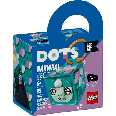 LEGO เลโก้ ด็อทส์ แบ็ก แท็ก นาร์วาล 41928