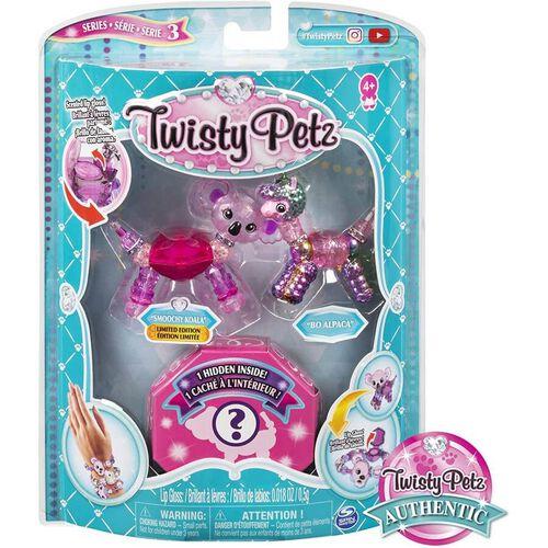 Twisty Petz ทวิสตี้ เพ็ทซ์ เซ็ทกำไลข้อมูลรูปสัตว์ แพ็ก 3 คละแบบ