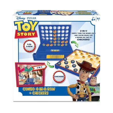 Toy Story ทอย สตอร์รี่ 4 In A Row And Checkers ขนาด 4 นิ้ว