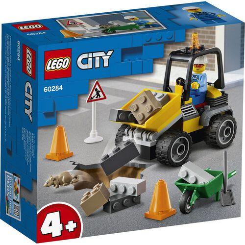LEGO เลโก้ ซิตี้ โร้ดเวิร์ค ทรัค 60284