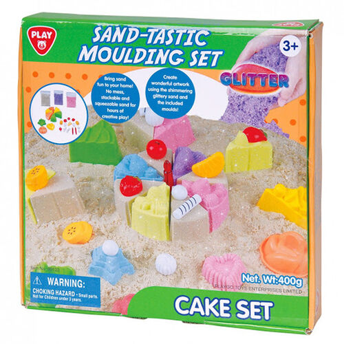 Playgo เพลย์โก ทรายวิทยาศาสตร์ เมจิคแซนด์ชุดขนมเค้ก