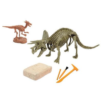 ของเล่นขุดฟอสซิลไดโนเสาร์ - ไทรเซราทอปส์