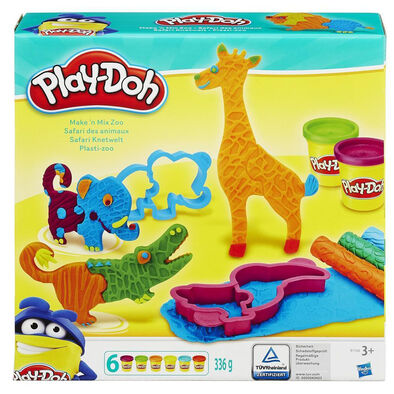 Play-Doh เพลย์โดว์ ชุดแป้งโดว์ธีมสวนสัตว์