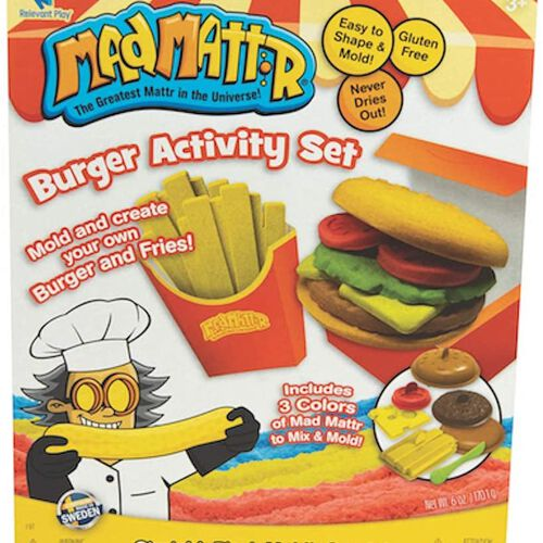 Mad Mattr แมด แมทเทรอ แป้งโดมหัศจรรย์ชุดทำเบอร์เกอร์