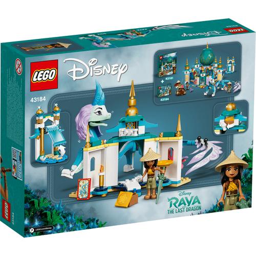 LEGO เลโก้ ดีสนีย์ ปรินท์เซส รายา แอนด์ ซิซู ดรากอน 43184