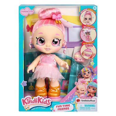 คินดี้คิดส์ ฟันไทม์เฟรนด์ – Pirouetta ของเล่นตุ๊กตาพร้อมอุปกรณ์ของเล่นตุ๊กตา