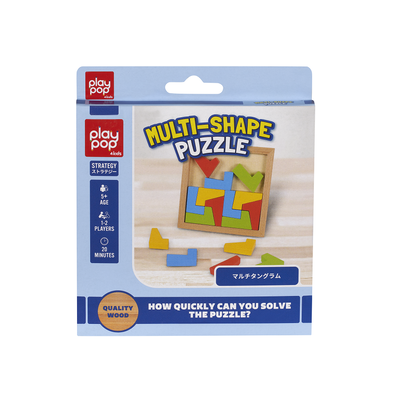 Play Pop เพลยป๊อป Multi-Shape Puzzle Strategy Game