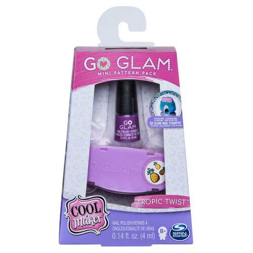 Cool Maker Go Glam คูล เมกเกอร์ โก แกลม ชุดรีฟิลน้ำยาทาเล็บ และตัวปั๊มลาย คละแบบ