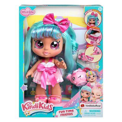 คินดี้คิดส์ ฟันไทม์เฟรนด์ – Bella Bow ของเล่นตุ๊กตา พร้อมชุดเซตน้ำชา