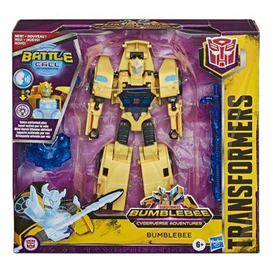 หุ่นยนต์บัมเบิ้ลบี Transformers Bumblebee Cyberverse Adventures Battle Call Trooper Class