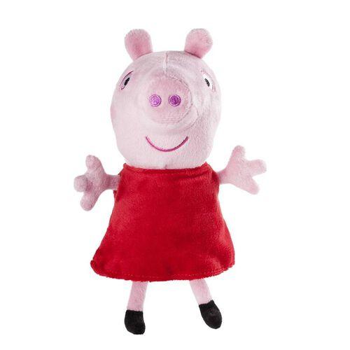 Peppa Pig เป๊บป้า พิก ตุ๊กตาเป๊บป้าพิก มีเสียง คละแบบ