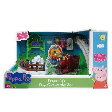Peppa Pig เป๊ปป้า พิก เดย์ เอาท์ แอท เดอะ ซู เพลย์เซ็ต