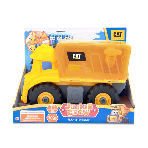 CAT แคทเทอพิลลา จูเนียร์ ครูล รถพร้อมเซทซ่อมบำรุงฟิลลิป