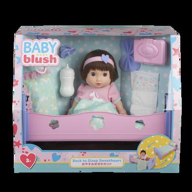 Baby Blush เบบี้ บลัช ร็อค ทู สลีป สวีทฮาร์ท ดอลล์ เซ็ต
