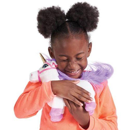 Pitter Patter Pets ตุ๊กตายูนิคอร์นสีขาวเดินได้