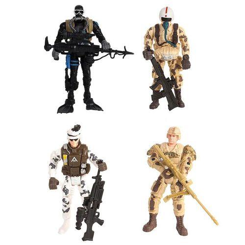 Rescue Force เรสคิว สควอด เพโทรล ฟิกเกอร์ เซ็ต