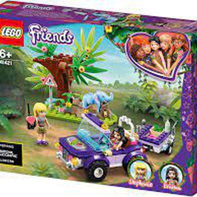 LEGO เลโก้ เบบี้ เอลเฟน จังเกิล เรสคิว 41421