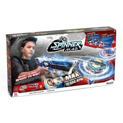 Silverlit ซิลเวอร์ลืท Spinner M.A.D Dual Shot Blaster Hurricane