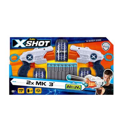 X-Shot เอ็กซ์ช็อต เอ็มเค 3 ดับเบิ้ลแพค