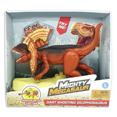 Mighty Megasaur ไมตี้เมกาซอร์ ดาร์ทชูตติ้ง ไดโลโฟซอรัส