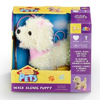 Pitter Patter Pets ตุ๊กตาน้องหมาเดินเล่น พร้อมสายจูง