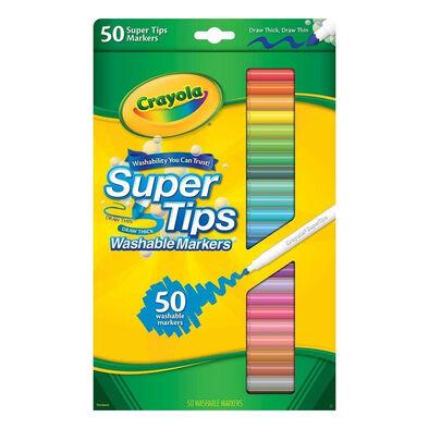 เครโยล่า ซุปเปอร์ทิปส์ มาร์คเกอร์ ล้างออกได้ 50 สี