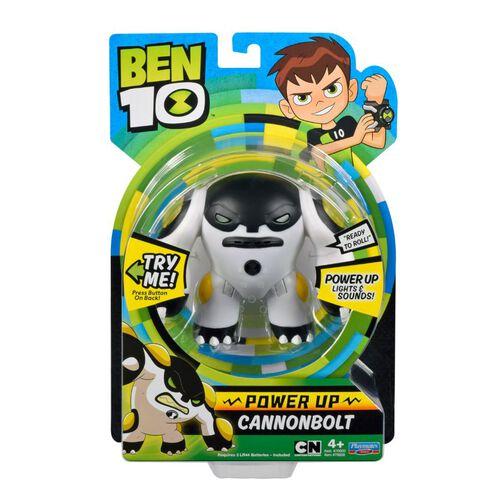 Ben 10 ของเล่นของสะสม Cn 6 Dlx Power Up Figure