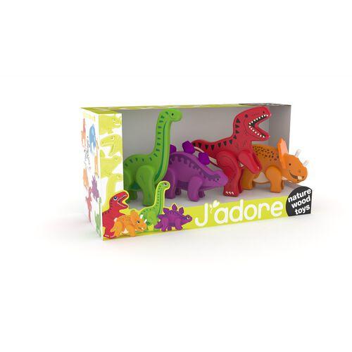 จาดอร์ เซ็ตไดโนเสาร์ขยับได้ 4 ตัว