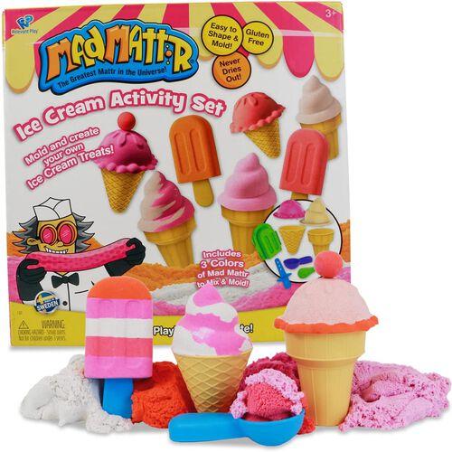 Mad Mattr แมด แมทเทรอ เซ็ทแป้งโดมหัศจรรย์ชุดทำไอศกรีม