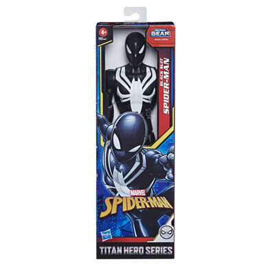 Spider-Man สไปเดอร์แมน ไตตั้น แบล็ค สูท