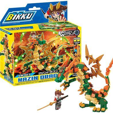 Bikku บิคคุ ตัวต่อบิคคุซีรีส์ 3 เมซิน ดรากอน