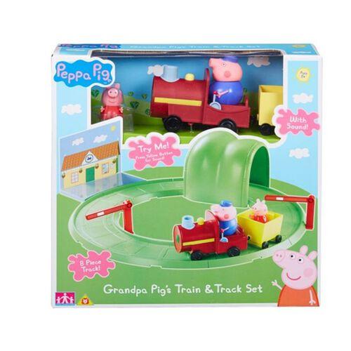 PEPPA PIGชุดของเล่นรถไฟ Grandpa Train & Track Set
