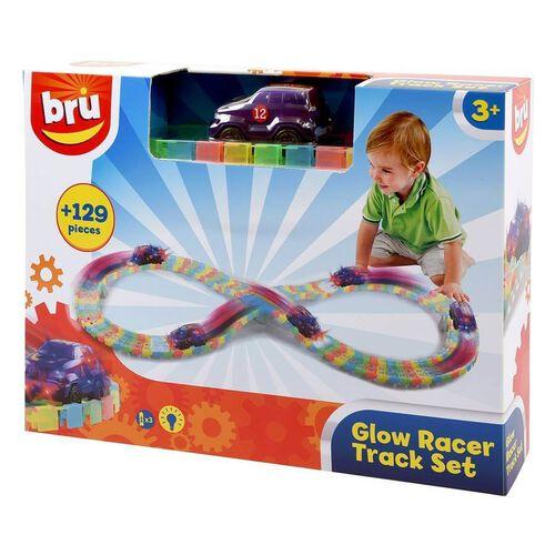 BRU Infant & Preschool บรู ชุดของเล่นรางรถแข่งเรืองแสง