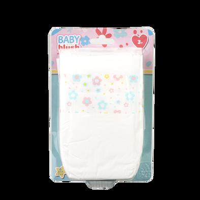 Baby Blush ผ้าอ้อมสำหรับตุ๊กตา แพค6