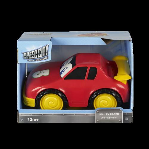 Speed City Junior สปีดซิตี้ จูเนียร์ รถแข่งสไมลี่ สีแดง