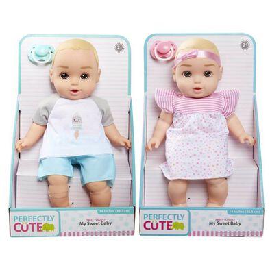 เพอร์เฟคลี คิวท์ เบบี้ มาย สวีท ตุ๊กตาเด็กทารกขนาด14นิ้ว