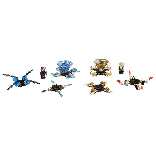 LEGO เลโก้ สปินจิทซึ นียา แอนด์ วู 70663