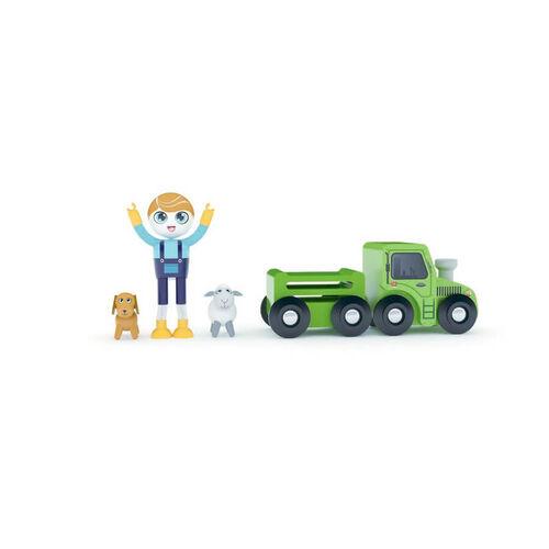 J'adore ฌาดอร์ ของเล่นไม้ ชุดฟิกเกอร์ธีมชาวไร่