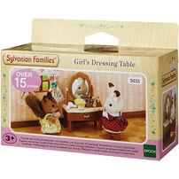 Sylvanian Family ซิลวาเนียน แฟมิลี่ โต๊ะเครื่องแป้งเด็กหญิง
