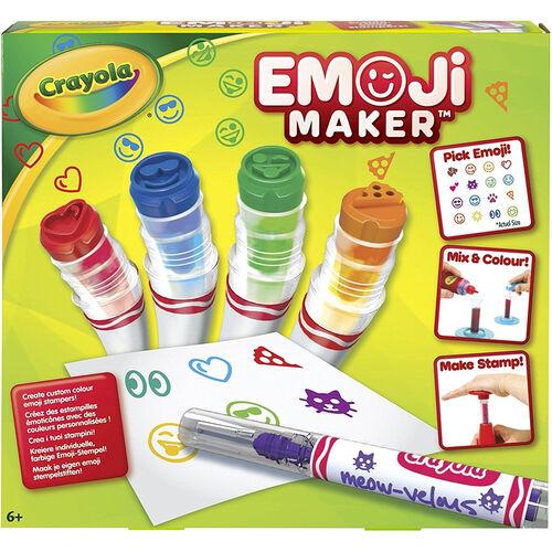 Crayola เครโยล่า เครื่องทำปากกาลายอิโมจิ