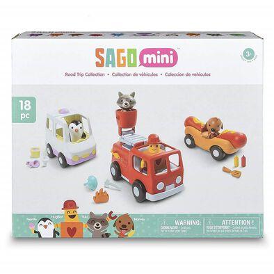 Sago Mini ซาโก้ มินิ เพลย์เซ็ท โร้ด ทริป คอลเล็คชั่น