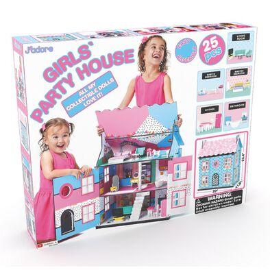J'adore ฌาดอร์ ของเล่นไม้ ชุดบ้านตุ๊กตา