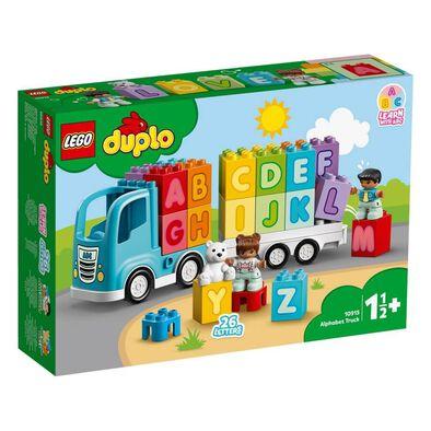 LEGO Duplo เลโก้ ดูโปล อัลฟาเบท ทรัค 10915