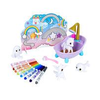 Crayola เครโยล่า สคริบเบิ้ล สครับบี้ ชุดระบายสีและอาบน้ำสัตว์ในตำนาน