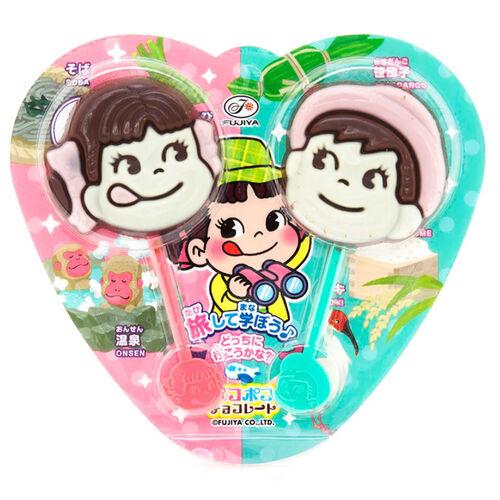 Fujiya ฟูจิยะ Peko Poko Stick Chocolate