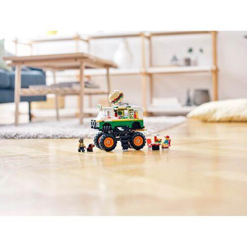 LEGO เลโก้มอนสเตอร์ เบอร์เกอร์ ทรัค 31104