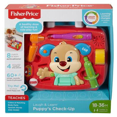 Fisher Price ฟิชเชอร์-ไพร์ส ลาฟ แอนด์ เลิน ปั๊บปี้ เช็ค-อัพ